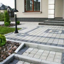 Тротуарна плитка Квадрат 15х15