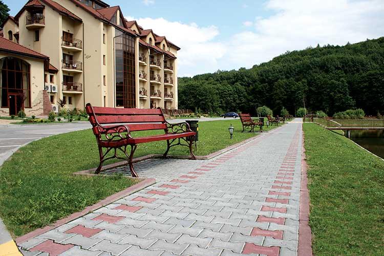 Тротуарна плитка Гантель Бухта Вікінгів