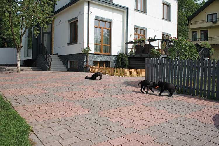 Тротуарна плитка Віденський прямокутник